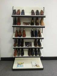 Metal Shoes Display Rack, Height: 5 - 6 feet