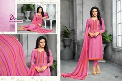 Formal Wear All Sizes Chanderi Suit