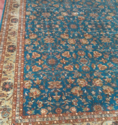 Printed Handmade Silk Carpet, Shape: Rectangular