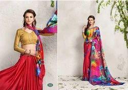 Designer Digital Printed Sarees