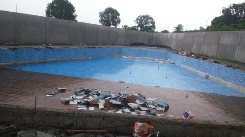 Swimming Pool In Farm House