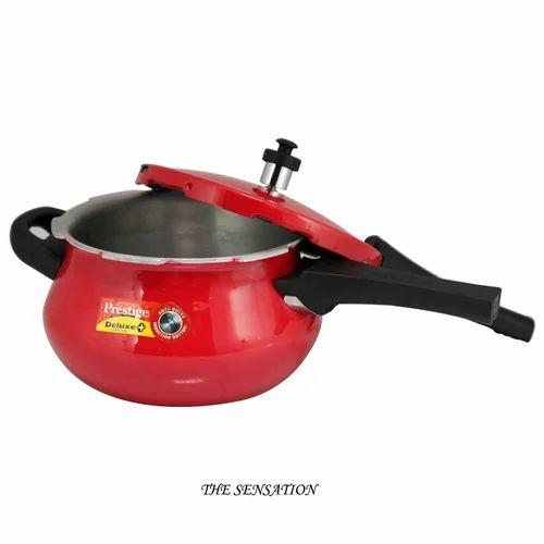 d20209bb9ee Red Prestige Deluxe Plus Induction Pressure Cooker