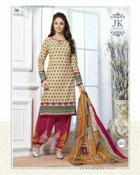 Soft Cotton Unstitched Salwar Suit