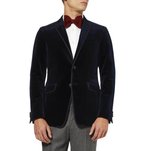 Cotton Linen Italiano Tucci Men S Black Blazer Velvet Party Wear Rs