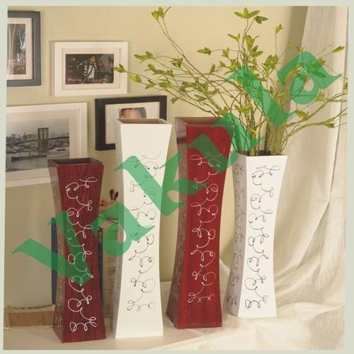 Wooden Flower Vase Lakdi Ka Guldaan