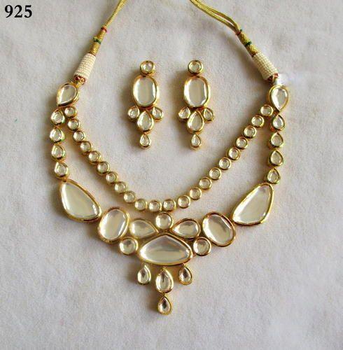 Kundan Jewellery Set With Ruby Stone | Jewellup