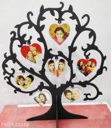 Sublimation Collage Frame. Big tree