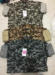 Army Colour Mens Printed Shirts