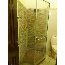Shower Cabin Glass Work