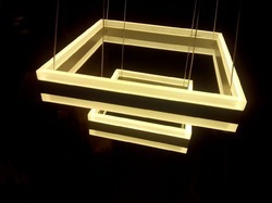 Decorative Square Hanging Light