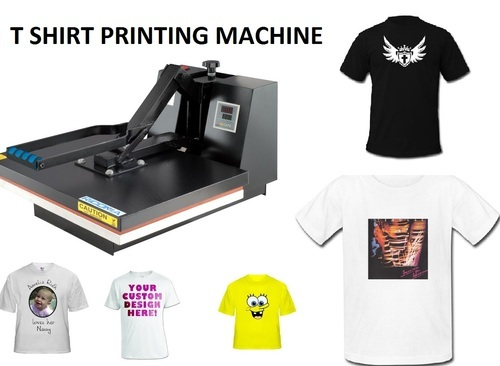 Apparel Machinery Mail: T Shirt Printing Machine At Rs 12000 /piece