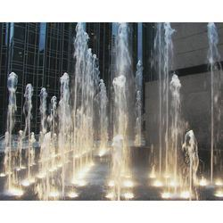 Nozzle Mounted LED Fountain Lights