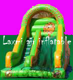 Laxmi Air Inflatable Nylon Plastic Inflatable Slide Bouncy, Size/Dimension: 7 X 3.5 X 3 m
