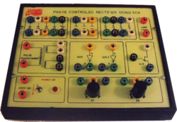 Phase Control Rectifier Using SCR