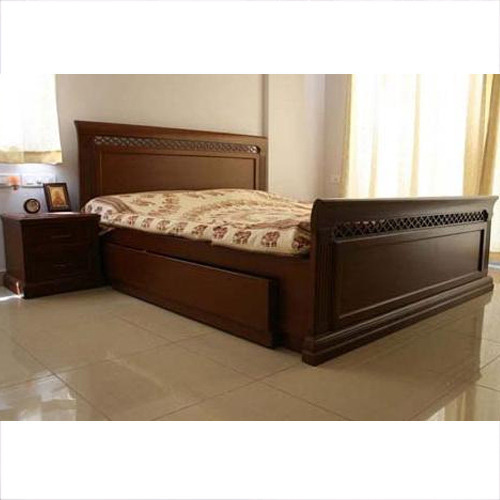 Single Wooden Cot Bed At Rs Piece Wooden Cot Bed ID - Bedroom cot designs photos