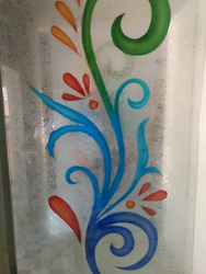 Printed Frosted Glass