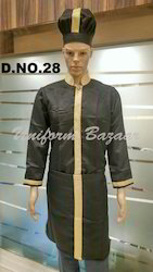 Dark Brown Colour Catering Uniform