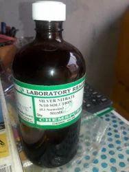 Reagent Grade Liquid Silver Nitrate Solution, for Laboratory