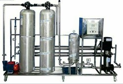500 LPH Industrial SS RO Plant