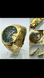 Diesel Golden Wrist Watch