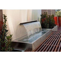 Water Sheet Fountain At Best Price In India