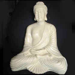 Buddha In Meditation In Resin Buddha_8
