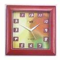 Square Anticlock Wall Clock