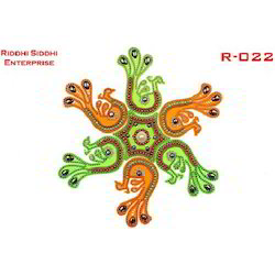 Designer Mirror Rangoli