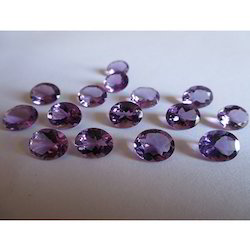 Natural Amethyst Oval Gemstones