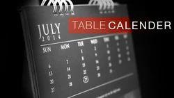 7-10 Days Table Calendar Printing Services