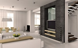 Modern Living Room Interior Decoration Service
