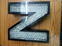 acrylic letters with crystal