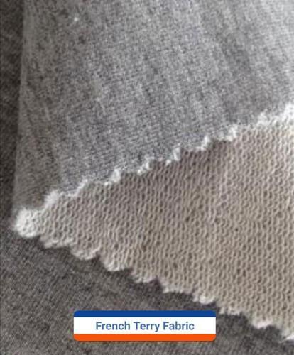 91d41150960 Knitted Fabrics - Anti Pill Melange Fleece Fabric Exporter from Ludhiana