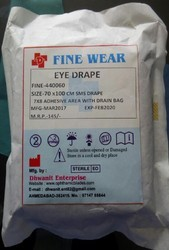 Ophthalmic Eye Drapes Double Layer