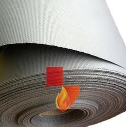 Wire Reinforced Silicone Coated Fiberglass Cloth