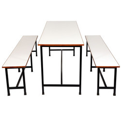 Six Seater Canteen Table