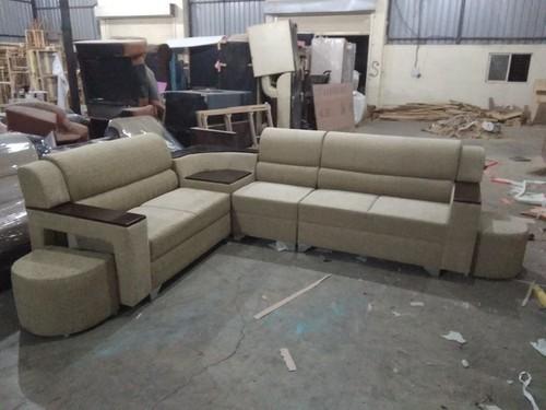 Beg Pinewood And Solid Wood Winter Model L Shape Sofa Set Rs 35000