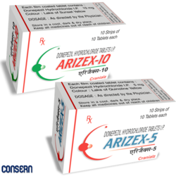 Arizex-5/10 (Donepezil Hcl Tablets )