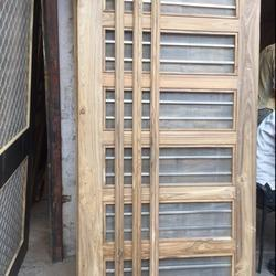 Original Sagwan Jali Laminated Flush Door, Size: 26x80 - 37x81 Sq. feet