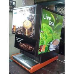Fresh Milk Flavored Tea Vending Machine