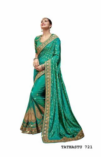 304879213d Fashion Designer Indian Sarees at Rs 6616 /piece | Chandni Chowk ...