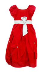 Red Ball Kids Gown