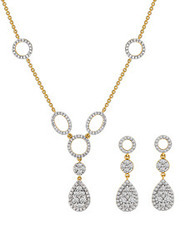Diamond pendant set joyalukkas india pvt ltd retailer in diamond pendant set aloadofball Gallery