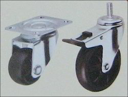 Polypropylene  Derlin Bush Caster Wheels