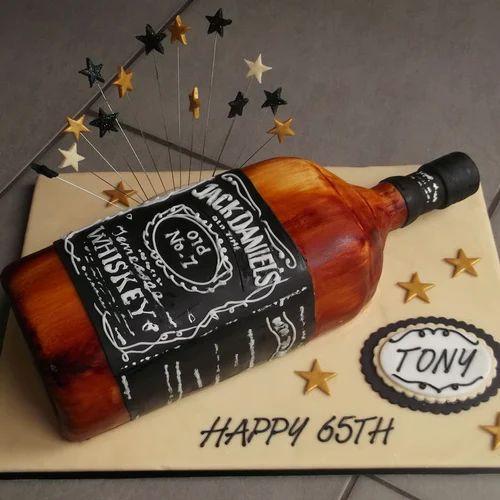 Jack Daniels Cake Midnight Cake Online Celebration Store