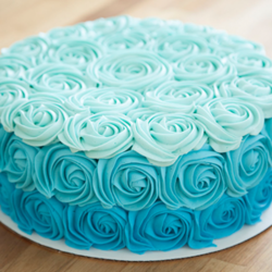 Blue Ombre Rose Cake At Rs 599 Patel Nagar Delhi Id 13864130830