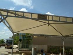 Modular Walkway Tensile Structure