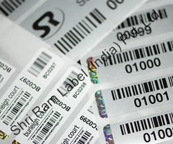 Holographic Barcode Labels