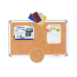 ALKOSIGN Rectangular Astra Fabric Notice Boards, Board Size: 60 x 90