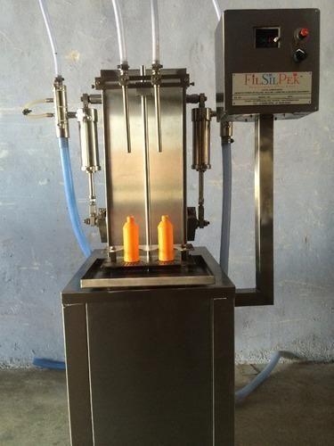 FILSILPEK Mechenical Semi Automatic Liquid Filling Machine, 1.1 Kw